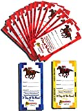Win, Place & Show Tickets (Set of 200)