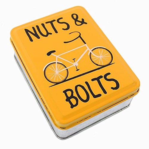 Nuts & Bolts Metal Tin