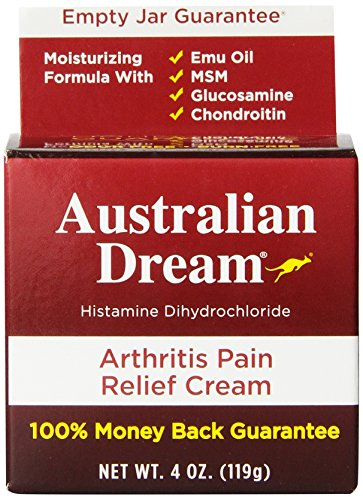 Australian Dream Arthritis Pain Relief Cream, 4 Ounce Dreams Rub