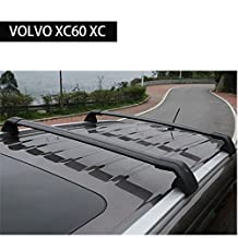 Roof Rack Crossbar for VOLVO XC60 XC 2013-2017 Baggage Luggage Rail Cross Bar - Black
