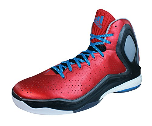 (adidas D Rose 5 Boost Mens Basketball Sneakers/Shoes-Red-16)