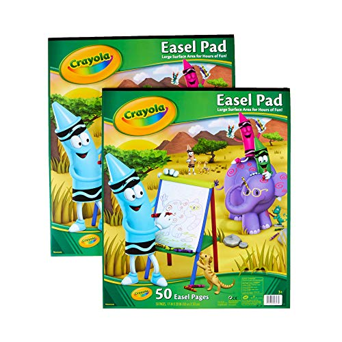 Crayola Art Smock, Kids Painting Supplies, Gift for Kids, Each 50 Pgs ()