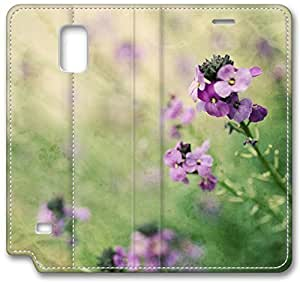Field Flowers Samsung Galaxy Note3 Case,Samsung Galaxy Note3 Wallet Case, Classic Vintage Leather Wallet Cover, Samsung Galaxy Note3 IV WANGJING JINDA
