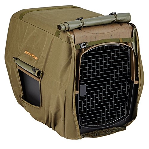 Onyx Outdoor Winter Moss Uninsulated Kennel Cover by Onyx Outdoor