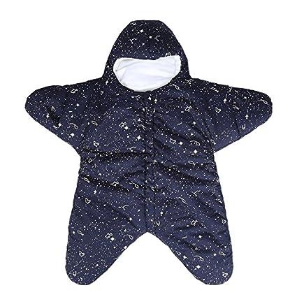 Baby Estrella De Dormir Saco De Dormir Súper Suave Recién Nacido Sueño Saco Polar Dormir Saco