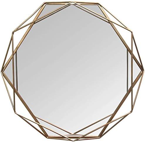 Stratton Home D cor S11541 Chloe Wall Mirror, 31.50 W X 3.15 D X 29.53 H, Gold