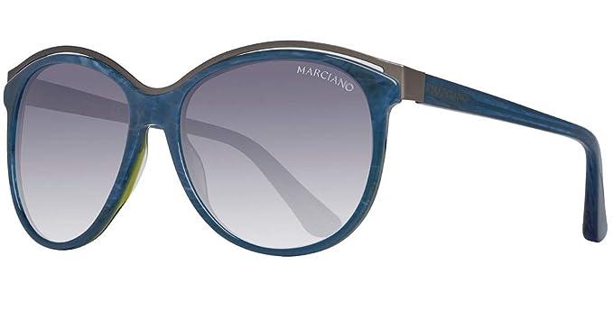 574c909af7 GUEX5 Sonnenbrille GM0744 5792B, Gafas de Sol para Mujer, Azul (Blau), 57:  Amazon.es: Ropa y accesorios