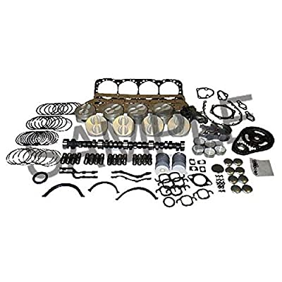Chevy 350 Vin Code K Truck TBI 1991-1995 Engine Master Kit: Automotive