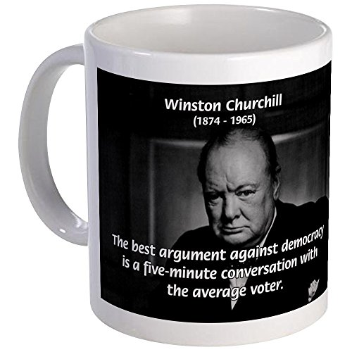 CafePress - Sir Winston Churchill Mug - Unique Coffee Mug, Coffee Cup (Mug Winston Churchill)
