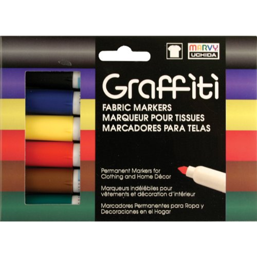 Uchida Of America 560-6A Graffiti Fabric Marker