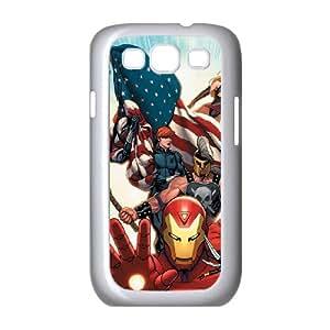 I-Cu-Le Phone Case Avengers Marvel Hard Back Case Cover For Samsung Galaxy S3 I9300