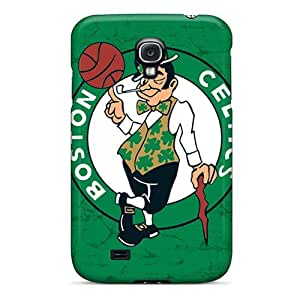 Special Cynthaskey Skin Case Cover For Galaxy S4, Popular Boston Celtics Phone Case