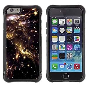 Suave TPU GEL Carcasa Funda Silicona Blando Estuche Caso de protección (para) Apple Iphone 6 / CECELL Phone case / / Universe Sky Nebulae Stars Lights Cosmos /