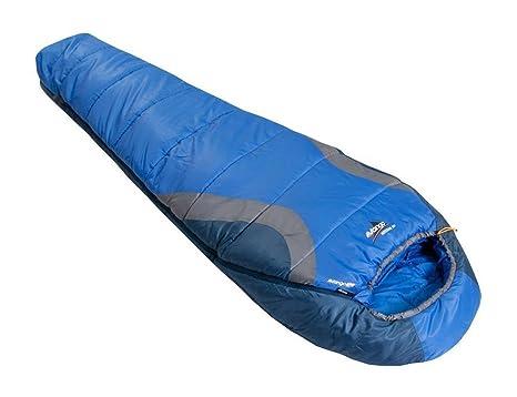 Vango Nitestar 250 – Saco de Dormir, Color Azul, Azul, Cremallera Izquierda