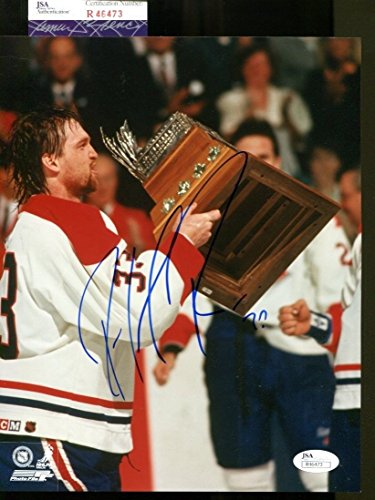 Patrick Roy Signed Photo 8x10 Autographed Canadiens JSA (Patrick Roy Photograph)