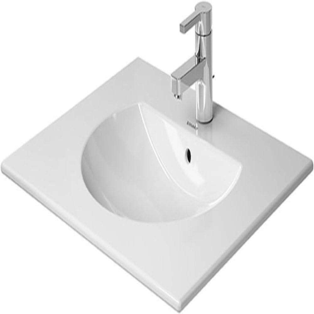1 Hole Tapping Duravit 499630000 Furniture Washbasin