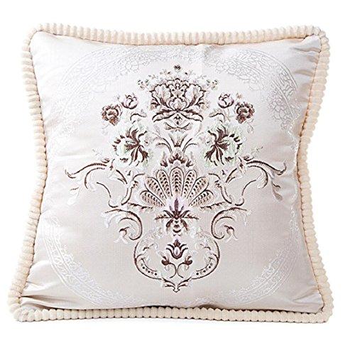 Ikevan Hot Selling European-style Luxury Retro Square Pillowcase Velvet Pillow Case Sofa Waist Throw Cushion Cover Home Decor (18