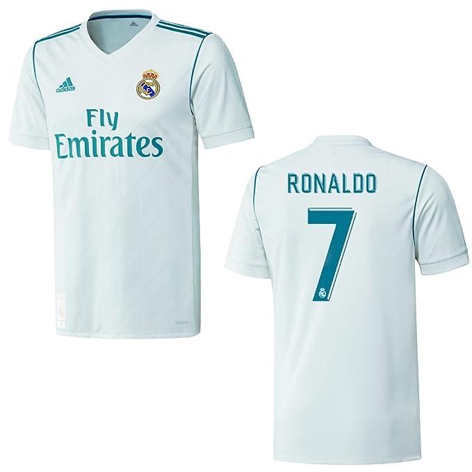 1 opinioni per Adidas Maglietta per bambini del Real Madrid per le partite in casa, stagione
