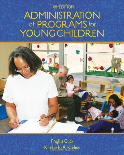 Admin.Of Programs F/Young Children