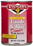 Evangers Complete Classic Dinners – Lamb and Rice – 12×13 oz, My Pet Supplies