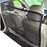 Chytaii Pet Car Net Pet Barrier Car Safety Net Blocks Dogs Access to Car Front Seats Keep Dogs in Back Seat