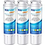ICEPURE UKF8001 Replacement Refrigerator Water Filter, Compatible with Maytag UKF8001, UKF8001AXX, UKF8001AXX-200, UKF8001P, Whirlpool 4396395, 469006, EDR4RXD1, EveryDrop Filter 4, Puriclean II,3PACK