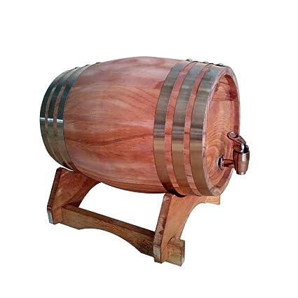 Amazon Com 5l Oak Barrels Brewing Decorative Barrel Hotel