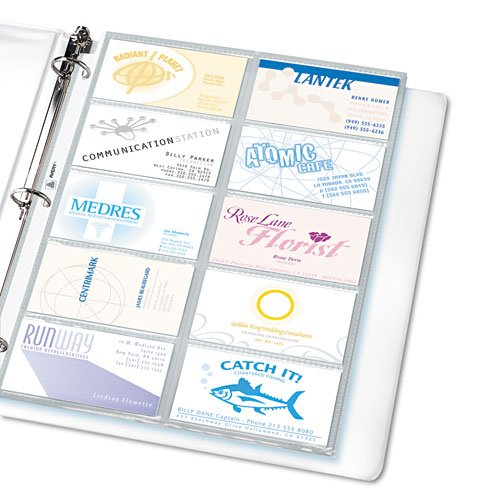 Outlet avery products avery business card binder pages 20 2 x outlet avery products avery business card binder pages 20 2 x 3 1 reheart Image collections