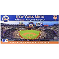 fan products of MasterPieces MLB New York Mets Stadium Panoramic Jigsaw Puzzle, 1000-Piece