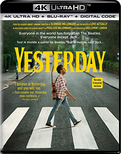 Yesterday [4K UHD+Blu-ray+Digital] (Bilingual)
