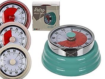 Kühlschrank Uhr Magnetisch : Hibuy küchenwecker retro. mechanischer küchentimer von hand