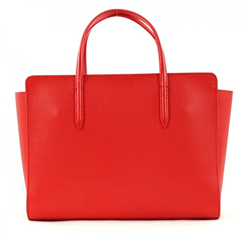 LACOSTE Chantaco Shopping Bag High Risk Red