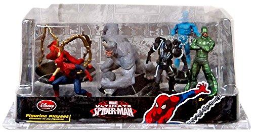 Disney Marvel Ultimate Spider-Man Ultimate Spider-Man 6-Piece PVC Figure Set