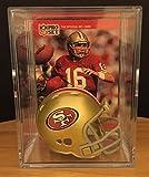 San Francisco 49ers NFL Helmet Shadowbox w/Joe
