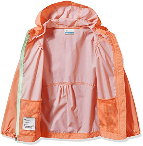 e9e176a90 Columbia Big Girl's Switchback Rain Jacket, Bright Peach, M by Columbia  (Image #