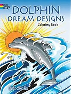 dolphin dream designs coloring book - Dolphin Coloring Book