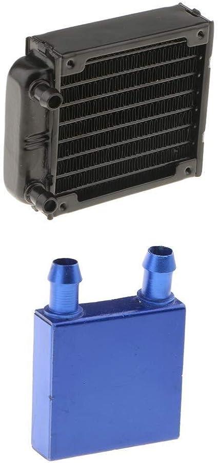 Qiaoniute Accesorios Electrónicos Intercambiador de Calor de 8 ...