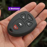 Dunnomart Rubber Key fob Cover case Shell Protected