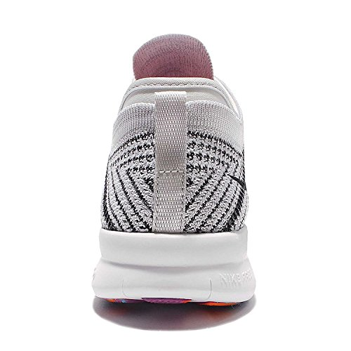 Nike Womens Wmns Free Tr Flyknit, White / Black-pure Platinum-hyper Volt, 12 Us