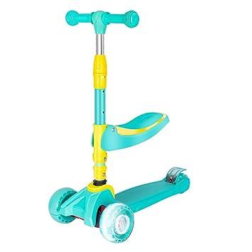 Triciclo Plegable Bebe,Scooter Kids PatinetesManillar y ...