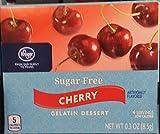 Kroger Suger Free Cherry Gelatin Dessert .3 oz (Pack of 4)