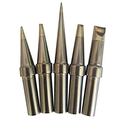 Quality ShineNow Replacement Tips for Weller WES51 WESD51 WCC100 PES51 ET Tip Series(5PCS Tip Set)