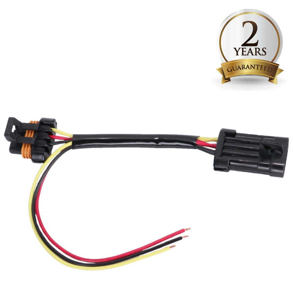 BUNKER INDUST Tail Light Power Harness for 2015-2018 Polaris RZR 900 1000 XP Turbo Light Wiring Whip Running Light Brake Light Ground License Plate Accessory 3 Wire Power Harness