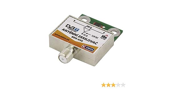 Preamplificador Antena Aplificacion 30 dB Entradas VHF/UHF