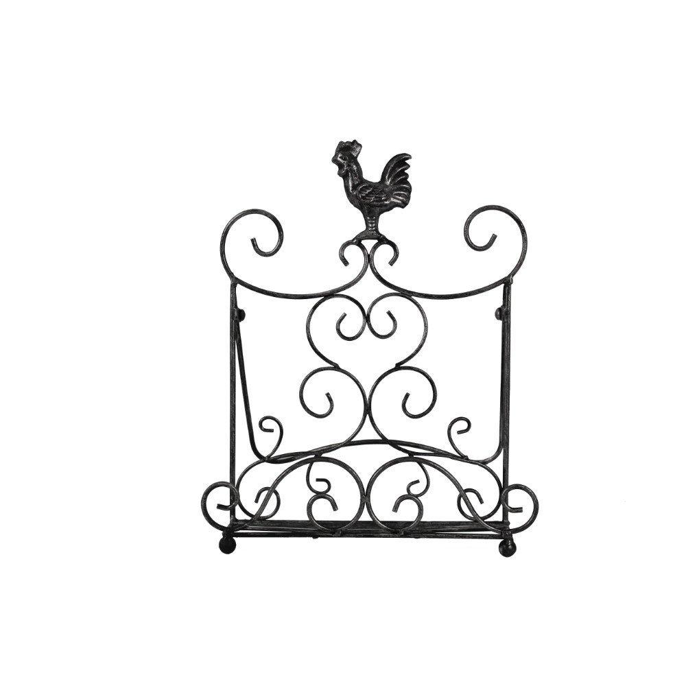 Paula Deen Signature Pantryware Standing Rooster Metal Cookbook Stand Meyer Corporation 54625