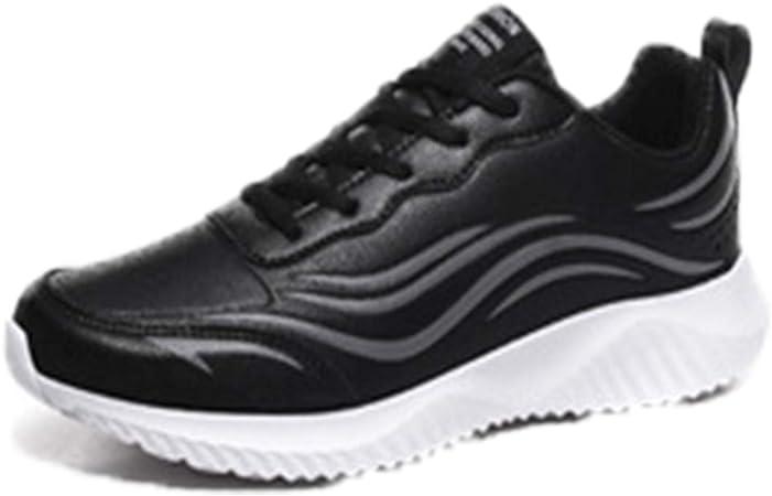 MH Zapatillas de Deporte para Hombre, Zapatillas para Correr Zapatillas de Tenis para Hombres Zapatillas de Deporte para Caminar Calzado Deportivo Transpirable Talla Informal 39-48,Blackwhite,47: Amazon.es: Hogar
