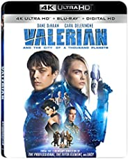 Valerian and the City of A Thousand Planets [4K Ultra HD + Blu-Ray];EUR