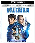 Cover Image for 'Valerian and the City of A Thousand Planets  [4K Ultra HD + Blu-ray + Digital HD]'