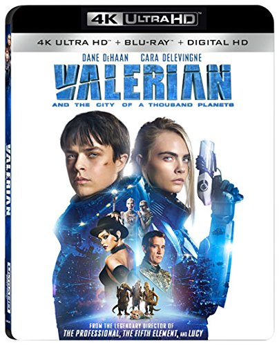 4K Blu-ray : Valerian and the City of a Thousand Planets (4K Mastering, 2 Pack, Widescreen, Dolby, AC-3)