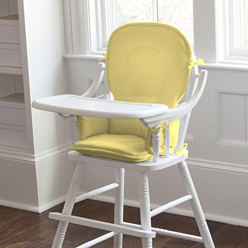 Carousel Designs Solid Banana High Chair Pad